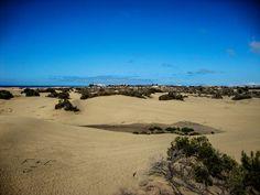 Spaziergang durch die Dünen von Maspalomas