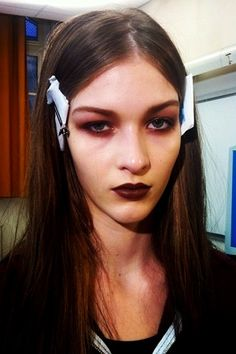 Givenchy vamps it up goth style