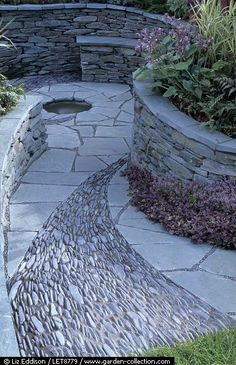 Fabulous stone work.  Amazing.  They can come to my house anytime at all.