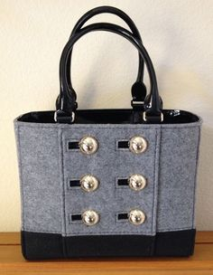 NWT Kate Spade Quinn Felt Wool Tote Handbag Bag Beantown NEW $298 #katespade #TotesShoppers