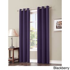 Update your view with these beautiful polyester curtains. These energy…