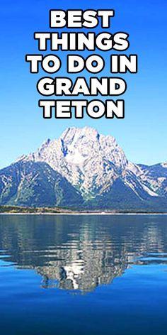Best things to do in Grand Teton National Park - Family travel tips. #travel #grandtetons #nationalparks Hiking Places, Hiking Spots, Grand Teton National Park, National Parks, Hiking Essentials, Vacation Trips, Vacation Travel, Travel Tips, Travel Ideas