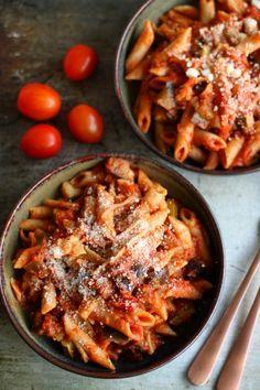 Pasta Recipes, Diet Recipes, Vegetarian Recipes, Snack Recipes, Cooking Recipes, Healthy Recipes, Vegas, Junk Food Snacks, Rabbit Food