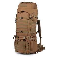 16834a79d8 Mardingtop 65+10L 65 Liter Internal Frame Backpack Tactical Military Molle  Rucksack for Hunting