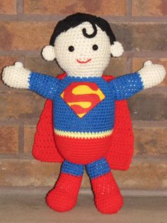 Knitting Pattern Superman Doll : The ojays, The bunny and Bunnies on Pinterest