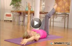 This short #Pilates routine for beginners will work your #abs and core in just minutes!
