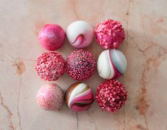 Learn how to make the easy and beautiful cake balls in time for Valentine's Day.
