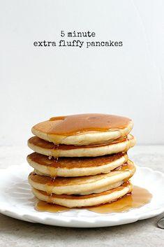5 Minute Extra Fluffy Pancakes Recipe on Yummly. @yummly #recipe