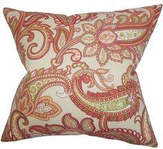 Galila Floral Throw Pillow