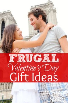 Here are several FRUGAL Valentines Day Gift Ideas to help your budget!