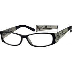 d508a218b0 Black Plastic Fashion Full-Rim Frame  339221
