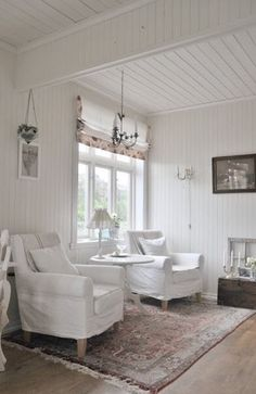 "oldfarmhouse: "" FarmHouse White Interiors @http://pin.it/_5lx2_1 """