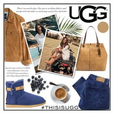 """""""Play With Prints In UGG: Contest Entry"""" by misskarolina ❤ liked on Polyvore featuring UGG Australia, Denim & Supply by Ralph Lauren, Madewell and thisisugg"""