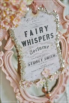 Fairy whispers tag