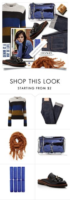 """""""Denim"""" by wuteringheights ❤ liked on Polyvore featuring rag & bone, BP., Rebecca Minkoff, Forever 21 and Stuart Weitzman"""