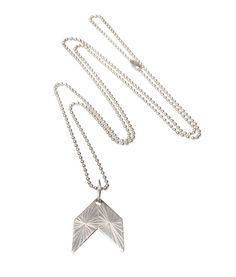 Qvist Jewellery |Urban Desert Necklace – Silver |€107 | ENIITO