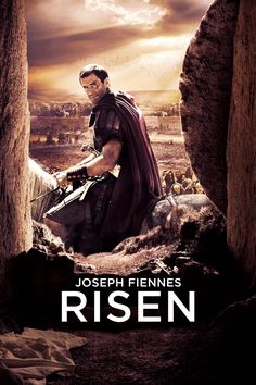 Risen Movie Poster - Joseph Fiennes, Tom Felton, Peter Firth  #Risen, #JosephFiennes, #TomFelton, #PeterFirth, #KevinReynolds, #ActionAdventure, #Art, #Film, #Movie, #Poster