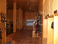 horse tack rooms | ... see your tack rooms! at the Tack  Equipment forum - Horse Forums
