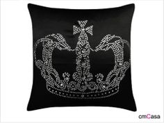 =cmCasa= 2080  Royal Crown Throw Pillow Case/Cushion Cover