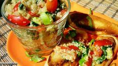 Quinoa s avokádom špenátom a paradajkami (fotorecept) - Recept
