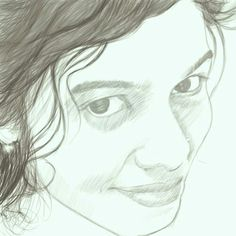 a rough sketck of someone i knw :)