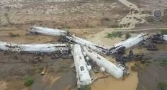 Un tren care transporta 200.000 de litri de acid sulfuric a deraiat intr-o zona izolata din nordul Australiei.