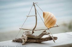FantaSea - Made by Natassa Klavdianou Driftwood Art, Crafts, Home Decor, Ideas, Ships, Manualidades, Decoration Home, Room Decor, Handmade Crafts