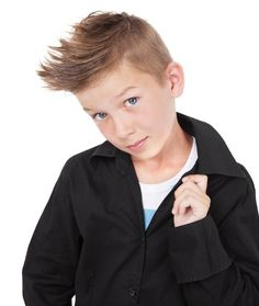 Best Haircut Styles for Little Boys in 2016 # Cute Mohawk Even if your little…