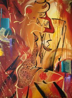 Elaine Murphy | Irish Abstract Fashion painter