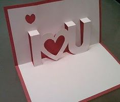 I've done this, really cute Pop-up Card