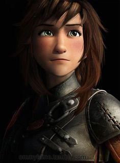 Guys Hiccup genderbend kiiiinda looks like me when i had longer hair