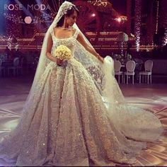 steven khalil inspired, wedding ball gown