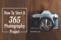 Great tips and ideas to help you get started on a 365 Photography Project. This is a great way to boost your creativity and strengthen your skills.