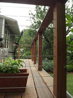 Railings and Ipe Deck
