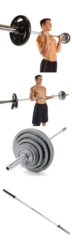 Barbells And Attachments 137864 Olympic 5 Foot Weight Bar Solid Chrome Workout Gym Bench Home Exercises Barbell It Now Only 60 4 On Ebay