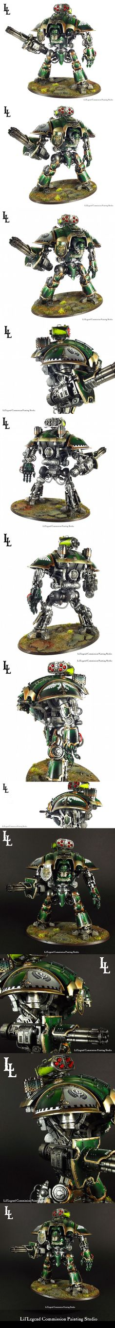 Imperial Knight Warden Glycon the Last Knight of Lys
