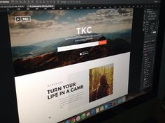 TKC - Homepage WIP by C-Knightz Art