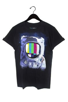 Astronaut Tee from Shadowplaynyc    Galaxy Print Clothing