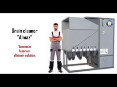 Aflatoxin, vomitoxin, fusarium solution! NEW GENERATION GRAIN CLEANER ww...