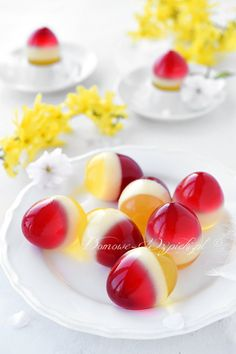 Götterspeise in der Eierschale – Rezept – Famous Last Words Quick Dessert Recipes, Jello Recipes, Easter Recipes, Recipe For 4, Food Humor, Gluten Free Recipes, Free Food, Easy Meals, Food And Drink