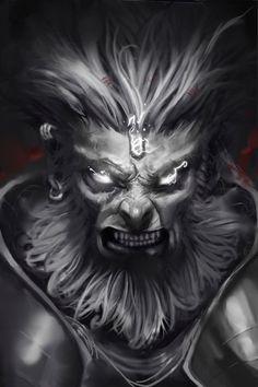 hanuman :D by dantevirgil