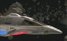 The Delta Flyer from Star Trek Voyager.