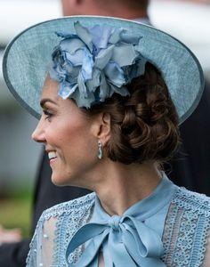 Catherine, 18 June 2019 Princesa Kate, Celebrity Photography, Fascinator Hats, Fascinators, Duchess Of Cambridge, British Royals, Kate Middleton, Nice Dresses, Most Beautiful