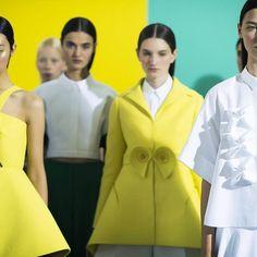 Cool Chic Style Fashion: New York Fashion Week: Delpozo Spring/Summer 2015