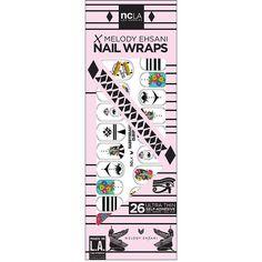 NCLA Nail Wraps, Caddyshack Cleopatra 1 ea $18