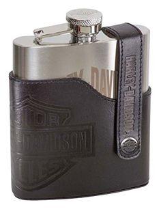 Horse Image Design Miniature Brushed Steel 1oz Flask Keyring