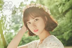 #여자친구 #GFRIEND #은하 #Eunha #1stAlbum #LOL #Lotsoflove ver. #teaser #image #20160711