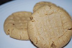 Oh SO Good Peanut Butter Cookies... and good with a chocolate kiss placed on top while the cookies are still hot...yum