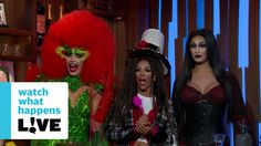 Alyssa Edwards, Tatianna, And Shangela Compete In 'Lip Sync For Your Wif...