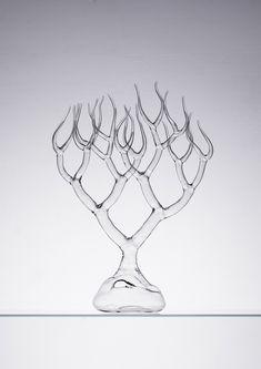 Glass sculpture by Simone Crestani (Alexandre Biaggi's edition)